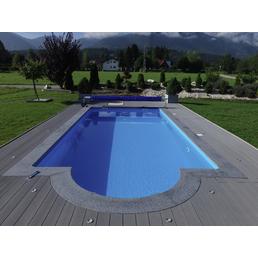 KWAD Beckenrandsteine »Poolumrandung«, Stein, geeignet für: Rechteckpool