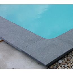 KWAD Beckenrandsteine »Poolumrandung«, Stein, geeignet für: Rechteckpool, 800x400 cm