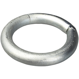 GAH-ALBERTS Befestigungsring, Rohstahl, Silber