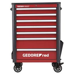 GEDORE RED Befüllter Werkstattwagen »WINGMAN«, Stahl, bestückt, 129-teilig