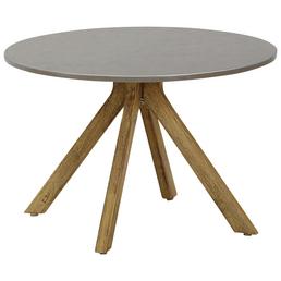 BEST Beistelltisch »Lagos«, Holz, braun/betongrau, BxHxT: 60 x 40 x 60 cm