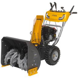 STIGA Benzin-Schneefräse »ST«, Arbeitsbreite: 62 cm, Griffheizung, Scheinwerfer