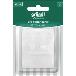 Gründl BH-Verlängerung, weiß, Polyester/Elastodien/Stahl