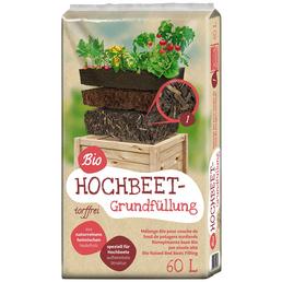 Bio Hochbeet-Grundfüllung Braun 60 l