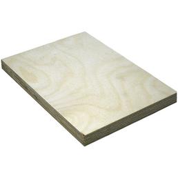 Birke Multiplex-Platte, 1250x2500x21 mm, Natur
