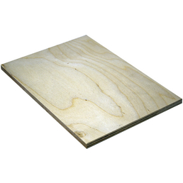Birke Multiplex-Platte, 1250x2500x9 mm, Natur