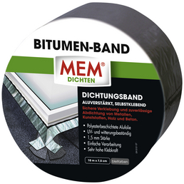 MEM Bitumenband, MEM Dichten, Blei, 10 m x 7,5 cm