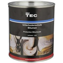 SprayTEC Bitumenstreichlack, schwarz, matt, 2,5 l