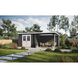 mr gardener blockbohlenhaus b x t 312 x 319 cm. Black Bedroom Furniture Sets. Home Design Ideas