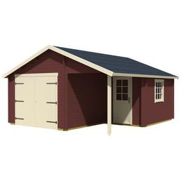 LASITA MAJA Blockgarage »Nevis«, B x T: 500 x 550 cm (Außenmaße ohne Dachüberstand)