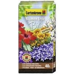 Blumenerde »Bio«, für Zimmer-,Balkon- und Kübelpflanzen, torffrei