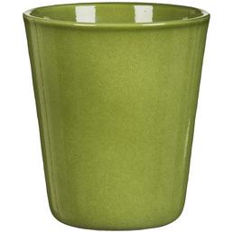 SCHEURICH Blumentopf »ORCHID«, Höhe: 14,4 cm, grün, Keramik