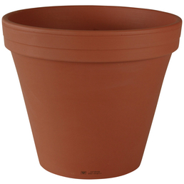 SPANG Blumentopf »VKE«, Höhe: 12 cm, rotbraun, Keramik