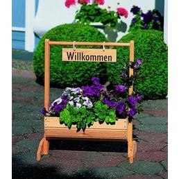 PROMADINO Blumentrog, Breite: 59 cm, Kiefernholz