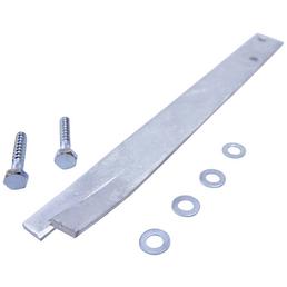 WEKA Bodenanker, Metall, aluminiumfarben, geeignet für: Tabaluga Klettergerüst mit und ohne Tornetz