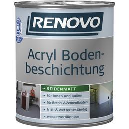 RENOVO Bodenbeschichtung, oxidrot , seidenmatt