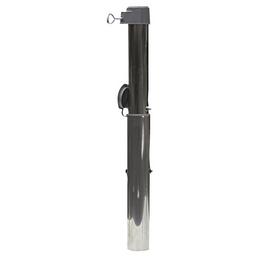 DELSCHEN Bodenhülse, Aluminium/Kunststoff, Rohrdurchmesser: 25 - 55 mm