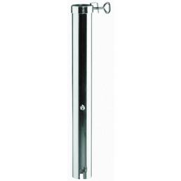 BEST Bodenhülse, Aluminium, Rohrdurchmesser: 55 mm