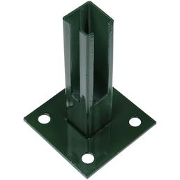 FLORAWORLD Bodenplatte, BxHxT: 10 x 15 x 10 cm, grün, für Bodenbefestigung