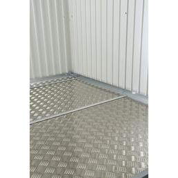 BIOHORT Bodenplatte für Gerätehäuser, B x H: 243,5  x 0,2  cm