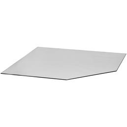 Bodenplatte zum Funkenschutz, B x L: 120 x 120 cm