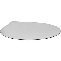Bodenplatte, zum Funkenschutz, B x L: 120 x 120 cm