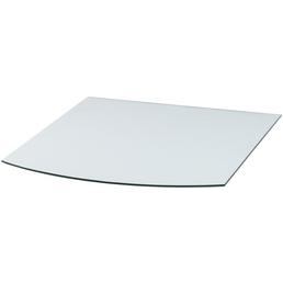 TIS Bodenplatte zum Funkenschutz, Sicherheitsglas, BxL: 80 x 100 cm