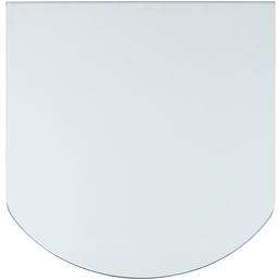 TIS Bodenplatte zum Funkenschutz, Sicherheitsglas, BxL: 85 x 110 cm
