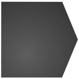 COLOR EMAJL Bodenplatte zum Funkenschutz, Stahl, BxL: 100 x 100 cm