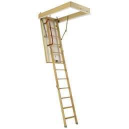DOLLE Bodentreppe »DOLLE iso «, max. Raumhöhe 285 cm, Fichtenholz, U-Wert 0,9 W/(m²K)