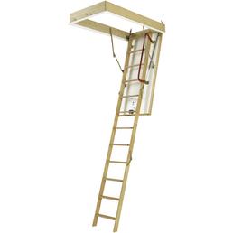 DOLLE Bodentreppe »DOLLE Isotrend«, max. Raumhöhe 285 cm, Fichtenholz, U-Wert 0,9 W/(m²K)