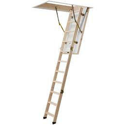 DOLLE Bodentreppe »DOLLE kompakt«, max. Raumhöhe 285 cm, Fichte, U-Wert 1,3 W/(m²K)