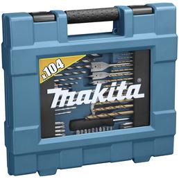 MAKITA Bohrer-Bit-Set »D-31778«, 104-tlg.