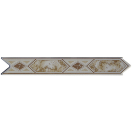 Bordüre, LxH: 30 x 20 cm, beige
