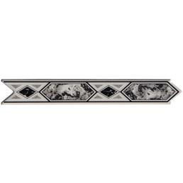 Bordüre, LxH: 30 x 20 cm, grau