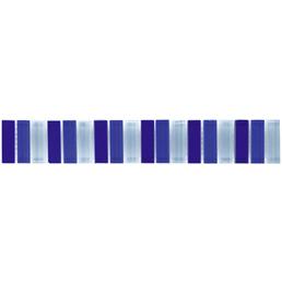 Bordüre, LxH: 30,5 x 30,5 cm, blau