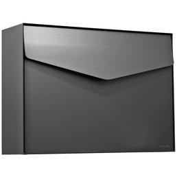 ME-FA Briefkasten »Letter«, eckig, Stahl, basaltgrau