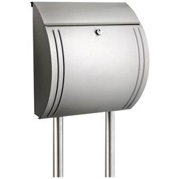 BURG WÄCHTER Briefkastenständer »Universal 150 Ni«, Edelstahl, silberfarben