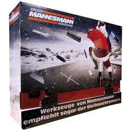 BRUEDER MANNESMANN WERKZEUGE Brüder Mannesmann Adventskalender, 131 Teile