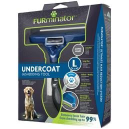 FURMINATOR Bürste »deShedding TOOL« L Langhaar, für große Hunde von 23 bis 41 kg