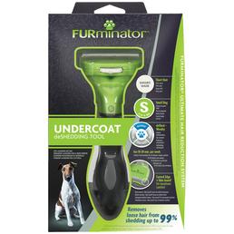 FURMINATOR Bürste »deShedding TOOL« S Kurzhaar, für kleine Hunde von 4,5 bis 9 kg
