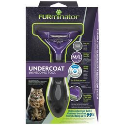 FURMINATOR Bürste »UNDERCOATED« für für Katzen über 4,5 kg