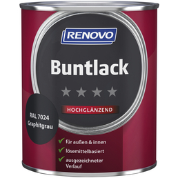 RENOVO Buntlack, graphitgrau, hochglänzend
