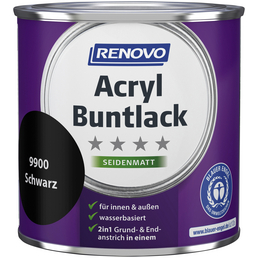 RENOVO Buntlack, schwarz , seidenmatt