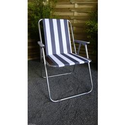 WESTERHOLT Camping-Stuhl »Piccolo«, BxHxT: 63 x 75 x 52 cm, Stahl/polyvinylchlorid_pvc/Polyester
