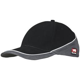 BULLSTAR Cap »VISION«, Baumwolle, schwarz/grau