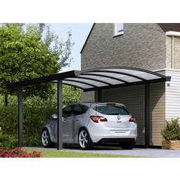 GARDENDREAMS Carport »Bogencarport«, B x T x H: 300  x 800  x 250  cm, anthrazit