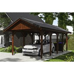 SKANHOLZ Carport »Wallgau«, Außenmaß BxT: 380 x 750 cm