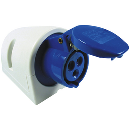 REV CEE-Wandsteckdose, 230 V, Blau