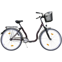 CHALLENGE Citybike Tiefeinsteiger, 28 Zoll, 1-Gang, Unisex
